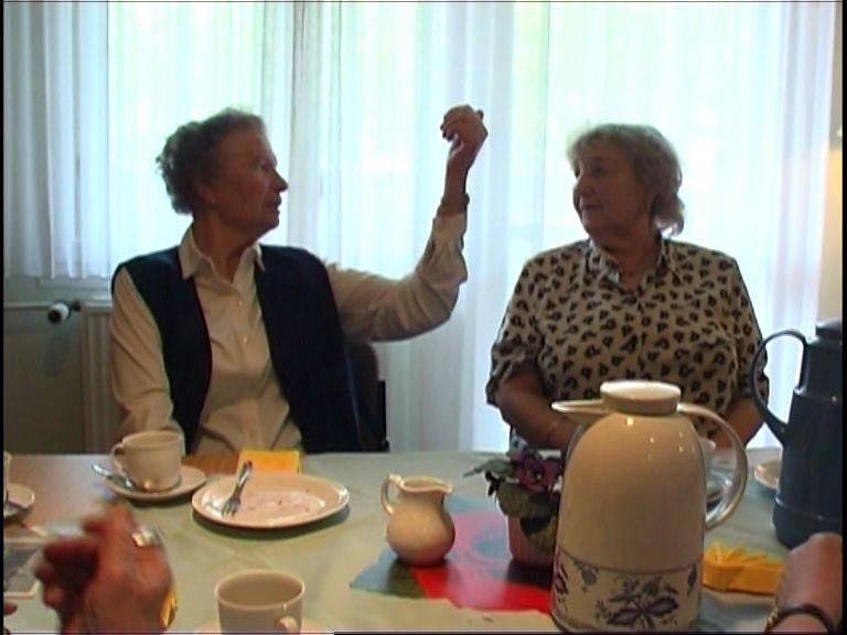 Johanna Sellenthin und Dora Popp