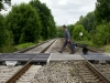 Bahngleise bei Weiler